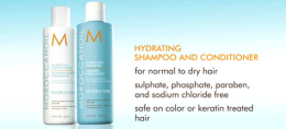 Moroccanoil's Hydrating Shampoo and Conditioner